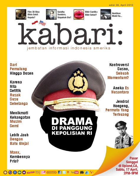 Majalah Digital Kabari Vol: 38 April - Mei 2010