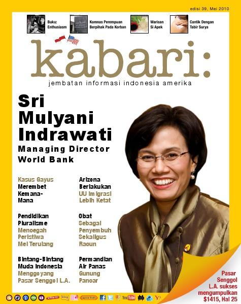 Majalah Digital Kabari Vol: 39 Mei - Juni 2010