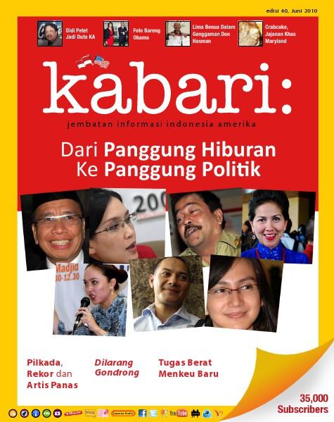 Majalah Digital Kabari Vol: 40 Juni - Juli 2010