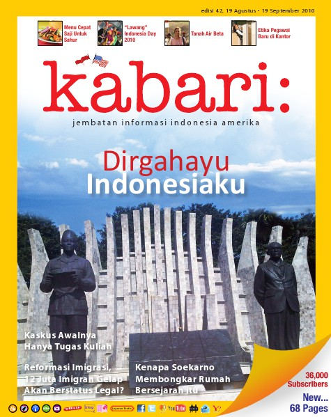 Majalah Digital Kabari Vol: 42 Agustus - September 2010