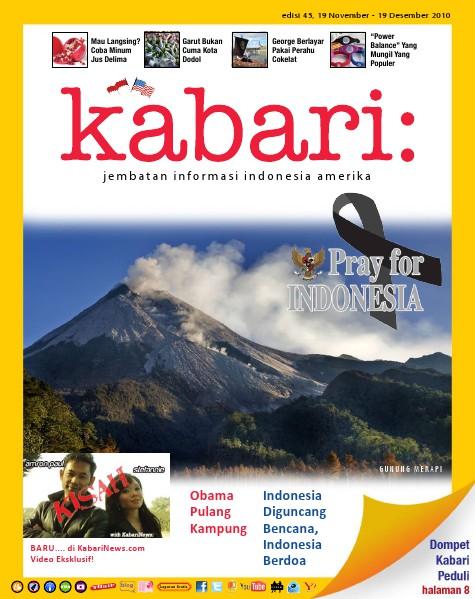 Majalah Digital Kabari Vol: 45 November - Desember 2010