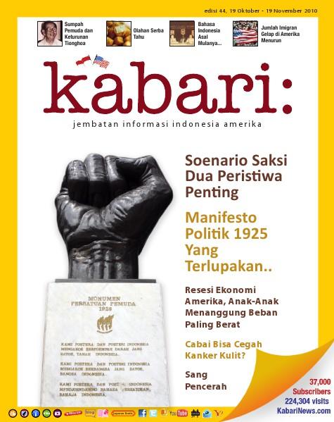 Majalah Digital Kabari Vol: 44 Oktober - November 2010