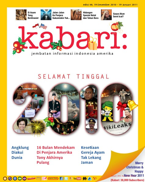 Majalah Digital Kabari Vol: 46 Desember 2010 - Januari 2011
