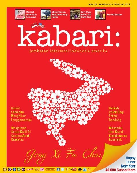 Majalah Digital Kabari Vol: 48 Februari - Maret 2011