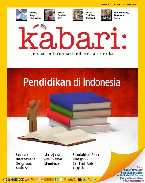 Majalah Digital Kabari Vol: 51 Mei - Juni 2011