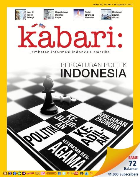 Majalah Digital Kabari Vol: 53 Juli - Agustus 2011