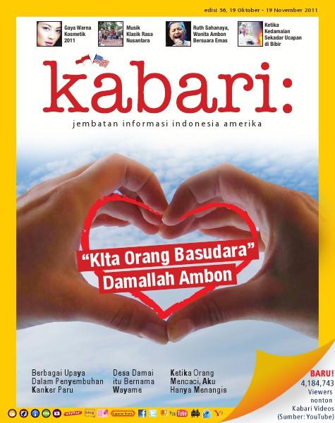 Majalah Digital Kabari Vol: 56 Oktober - November 2011