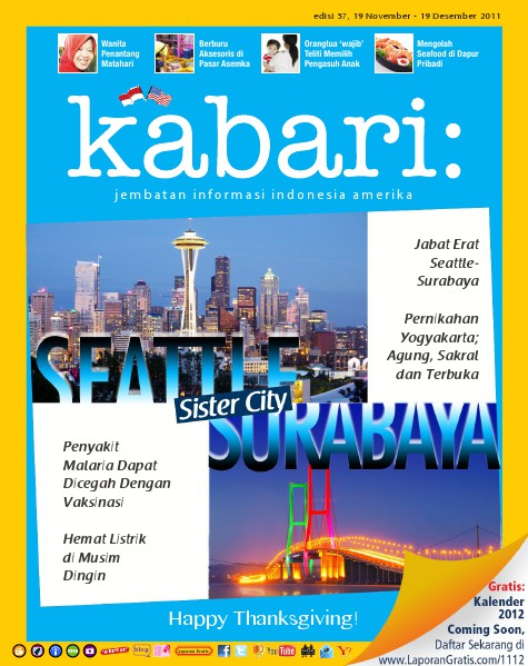 Majalah Digital Kabari Vol: 57 November - Desember 2011