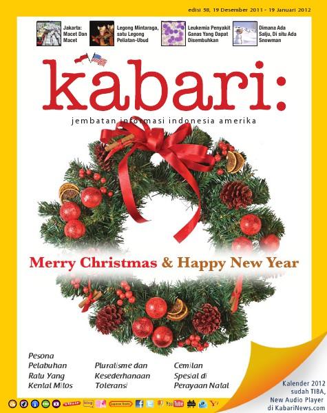 Majalah Digital Kabari Vol: 58 Desember 2011 - Januari 2012