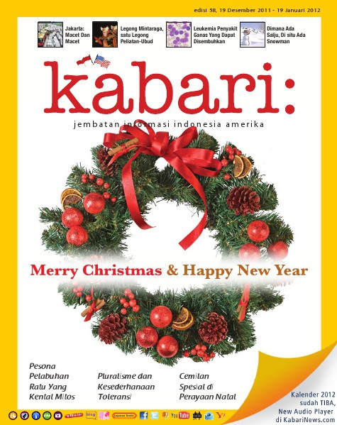 Majalah Digital Kabari Vol: 58 Desember 2011 - Januari 2012