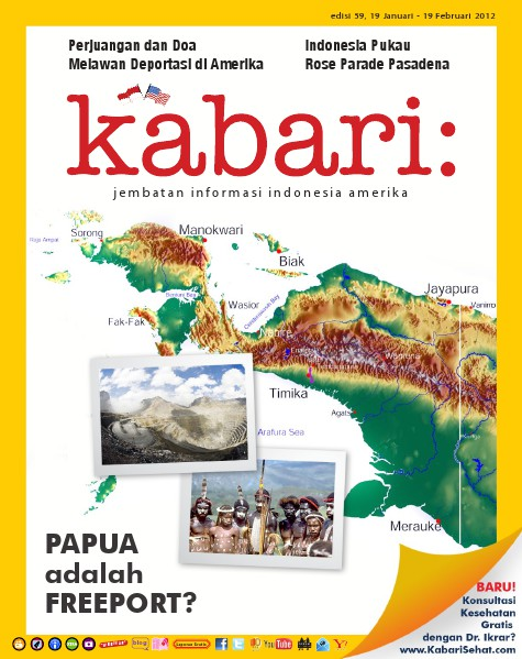 Majalah Digital Kabari Vol: 59 Januari - Februari 2012