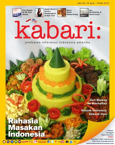 Majalah Digital Kabari Vol: 62 April - Mei 2012