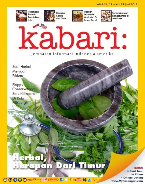 Majalah Digital Kabari Vol: 63 Mei - Juni 2012