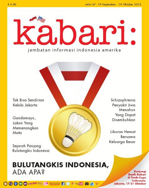 Majalah Digital Kabari Vol: 67 September - Oktober 2012