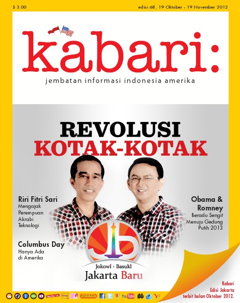 Majalah Digital Kabari Vol: 68 Oktober - November 2012