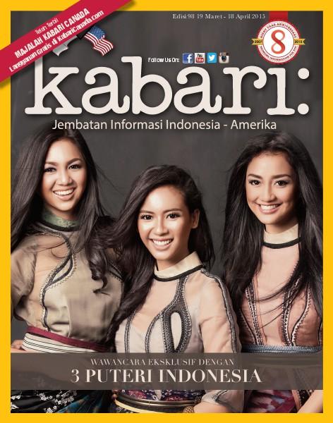 Majalah Kabari Vol 97 Maret - April 2015