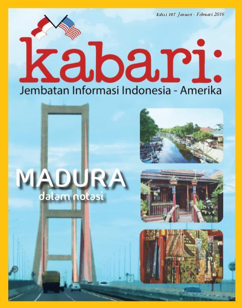 Majalah Kabari Vol 107 Januari - Februari 2016