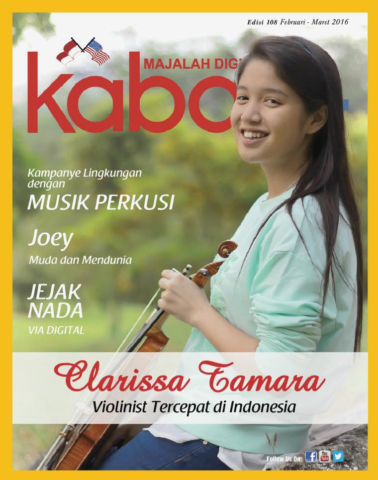 Majalah Digital Kabari Vol 108 Februari - Maret 2016