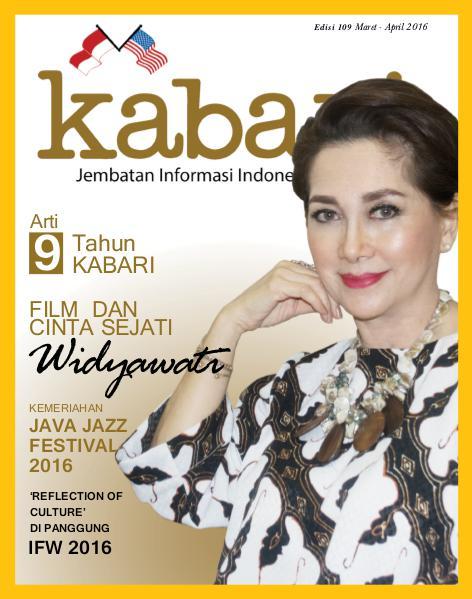 Majalah Kabari Vol 109 Maret - April 2016