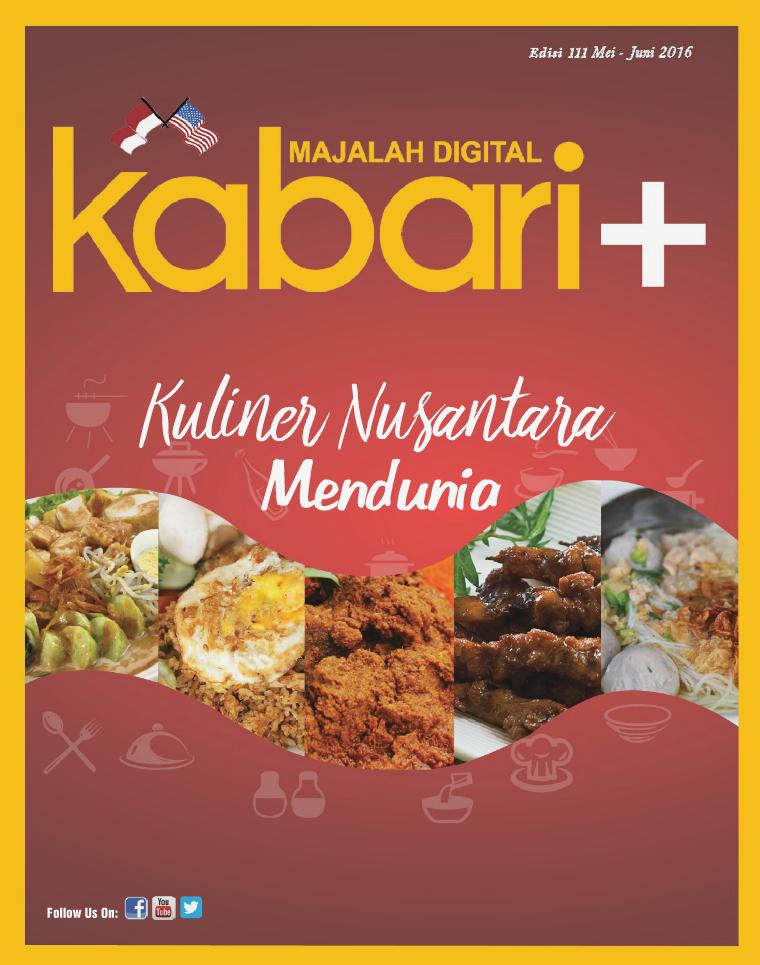 Majalah Digital Kabari Vol 111 Mei - Juni 2016