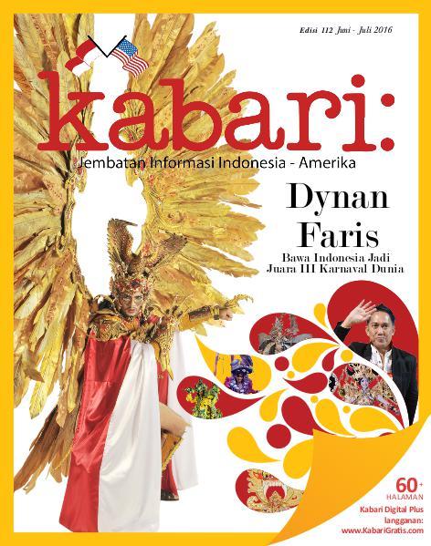 Majalah Kabari Vol 112 Juni - Juli 2016
