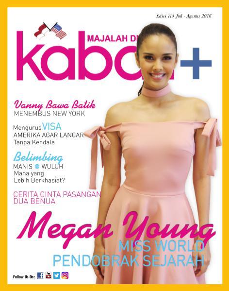 Majalah Digital Kabari Vol 113 Juli - Agustus 2016