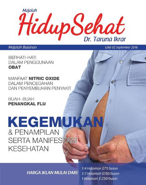Majalah Hidup Sehat Vol 2 September 2016