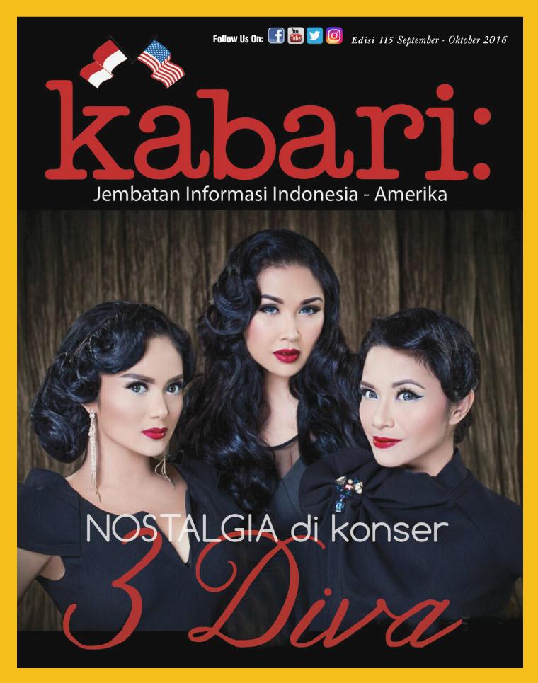 Majalah Kabari Vol 115 September - Oktober 2016