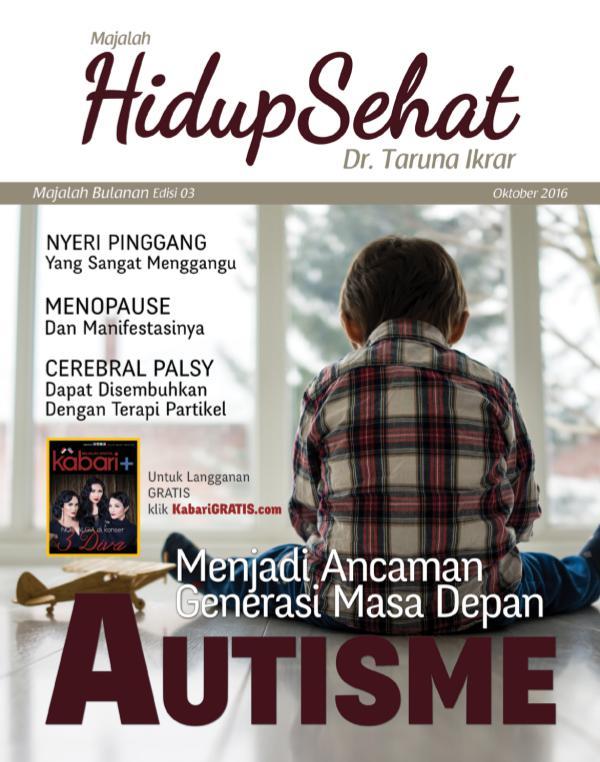 Majalah Hidup Sehat Vol 3 Oktober 2016