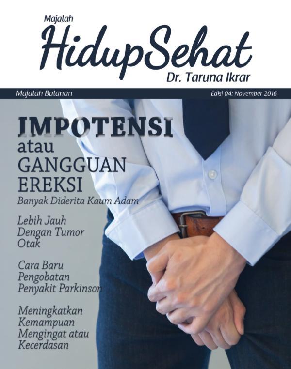 Majalah Hidup Sehat Vol 4 November 2016