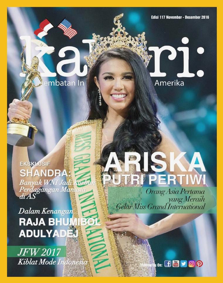 Majalah Kabari Vol 117 November - Desember 2016