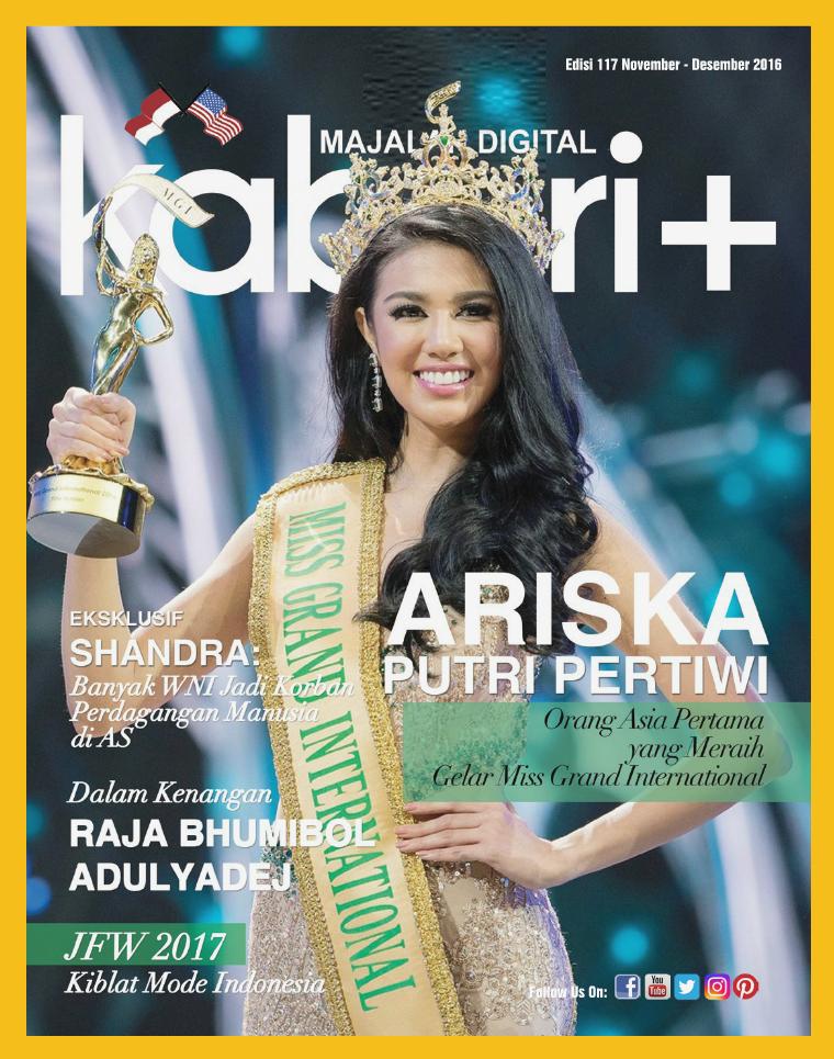 Majalah Digital Kabari Vol 117 November - Desember 2016