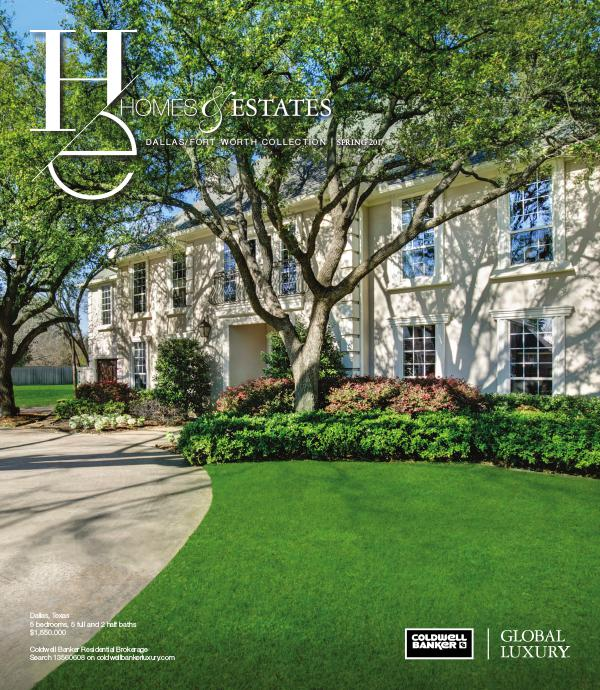 Homes & Estates Dallas/Fort Worth Collection Spring 2017
