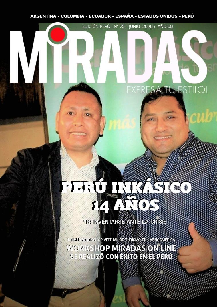REVISTA MIRADAS - MIRADAS PERÚ EDICIÓN # 75