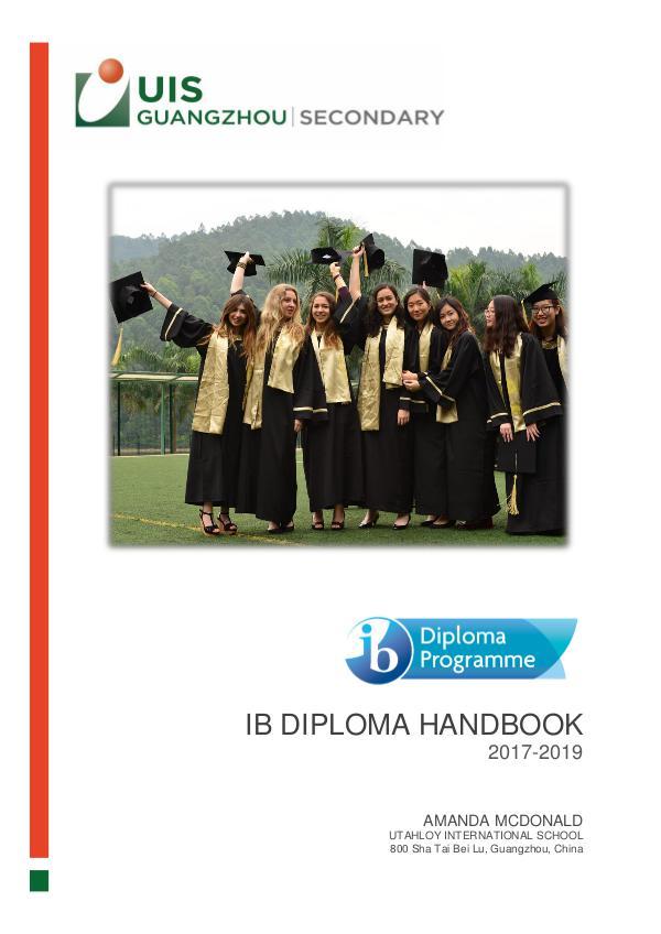 UISG - DP Special Features IBDP Handbook 2017-2019