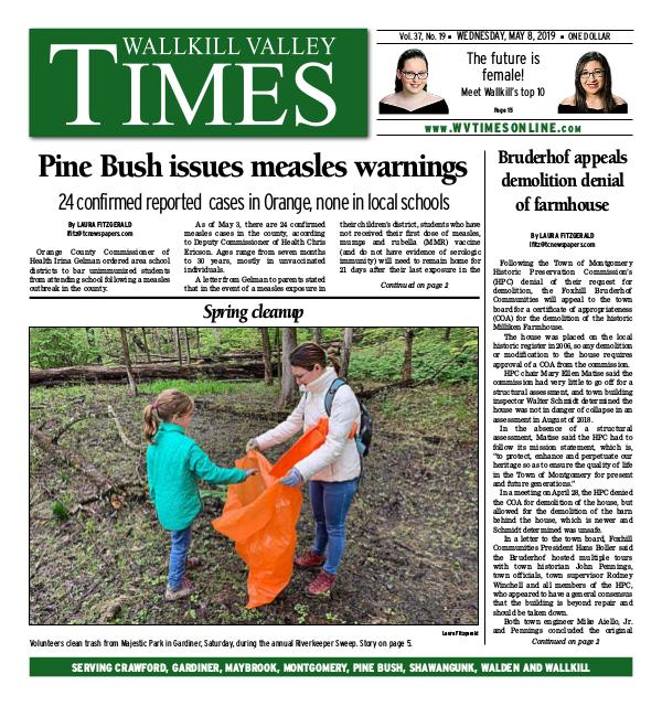 Wallkill Valley Times May 08 2019 | Joomag Newsstand