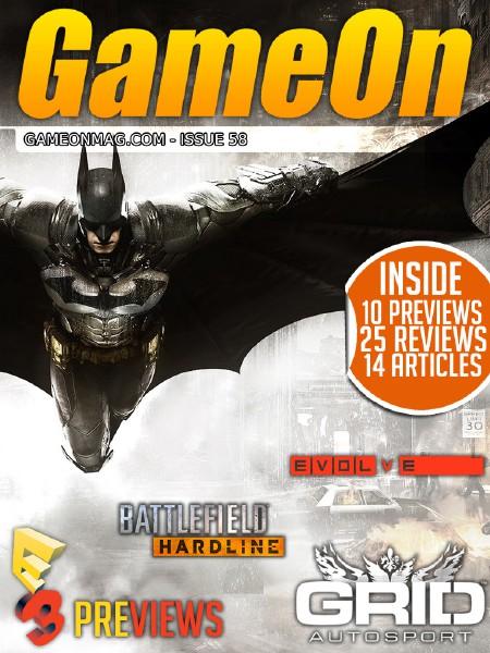 The GameOn Magazine Issue 58