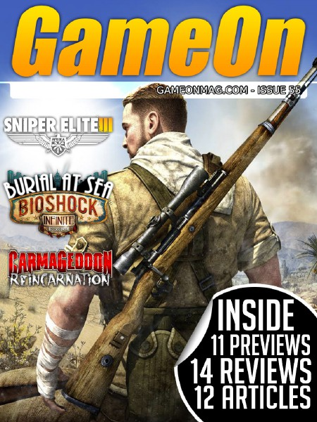 The GameOn Magazine Issue 55