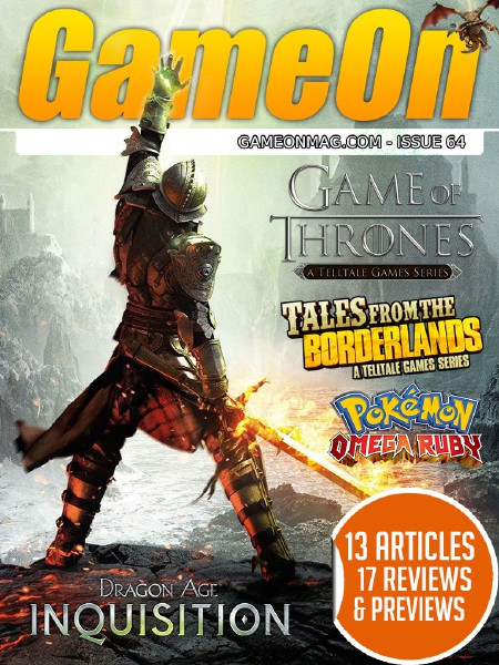 The GameOn Magazine Issue 64