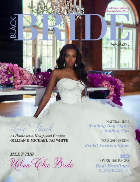 Black Bride Magazine The Urban Chic Bride Issue Vol. 3