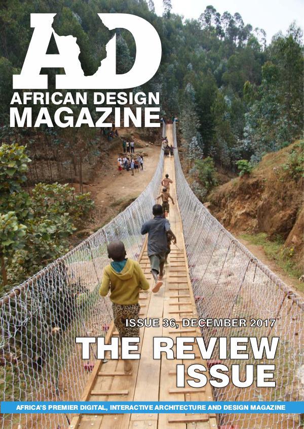 African Design Magazine ADM #36 December 2017