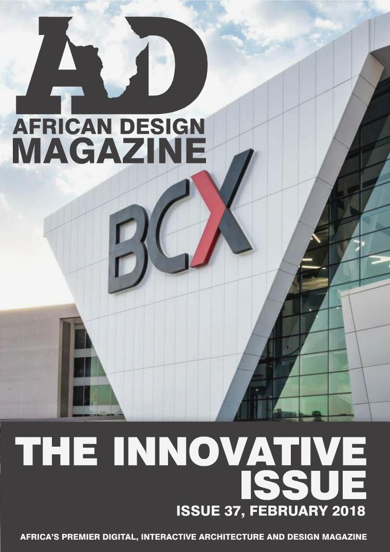 African Design Magazine ADM #37 February 2018