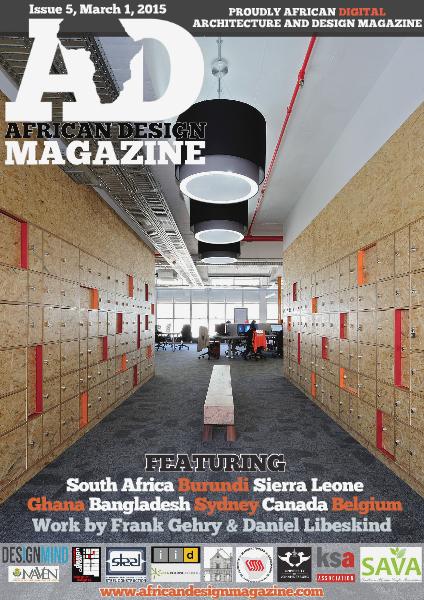 African Design Magazine March 2015
