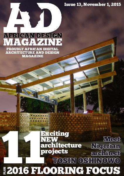 African Design Magazine November 2015
