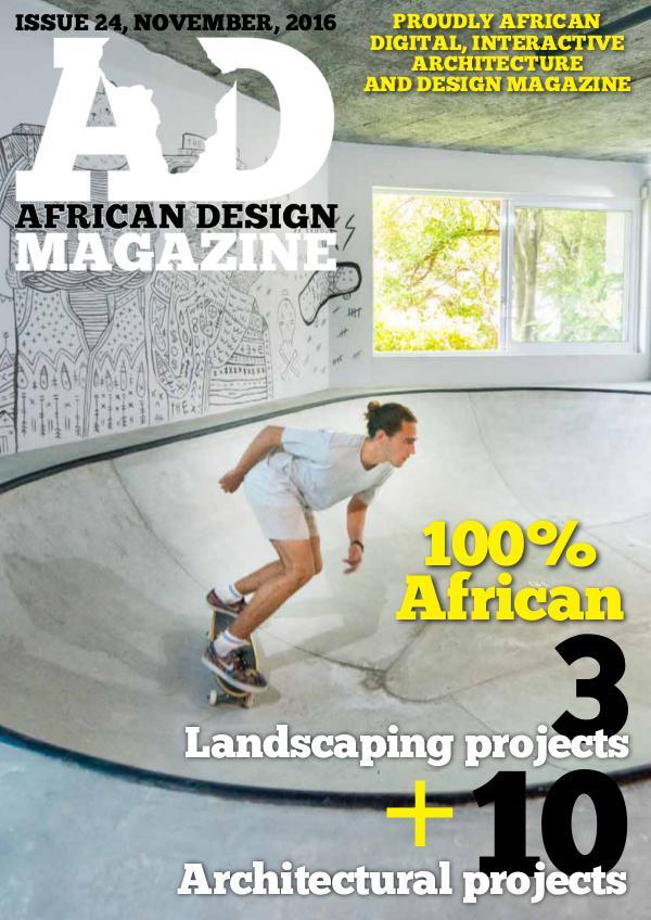 African Design Magazine November 2016