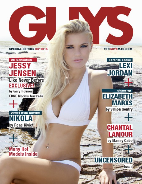 FOR GUYS MAG UNCENSORED    MAR 2015