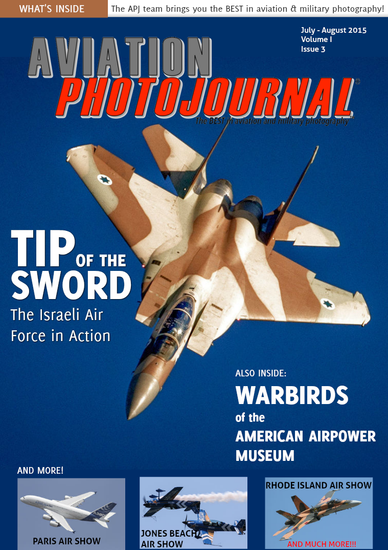 Aviation Photojournal July - August 2015