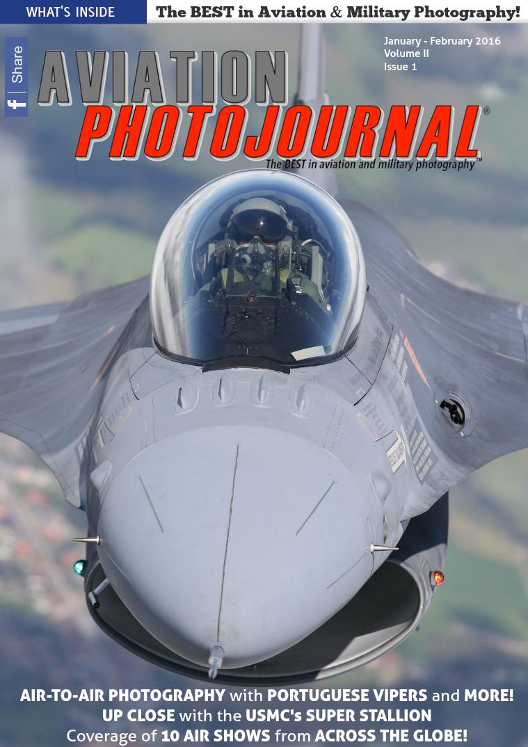 Aviation Photojournal January - February 2016