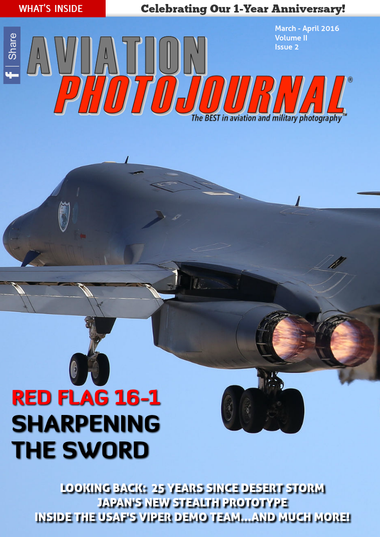 Aviation Photojournal March - April 2016