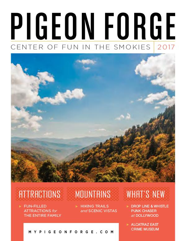 2017 Pigeon Forge Travel Guide Jan. 2017
